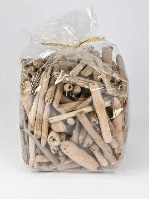 drijfhout stukjes