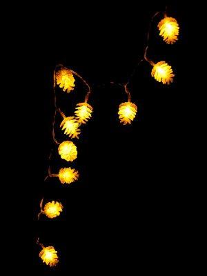 LED dennenappels