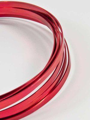 aluminium band smal rood