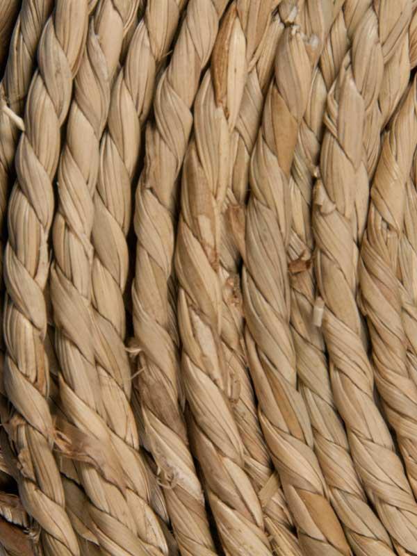 zeegras gevlochten tot touw 3 mm