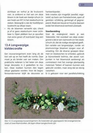 Handboek bloemschikken pag 223