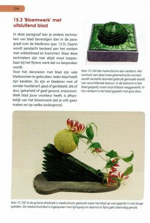 Handboek bloemschikken pag 254