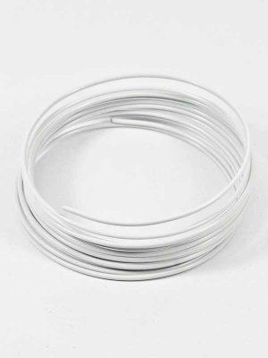 aluminiumdraad wit