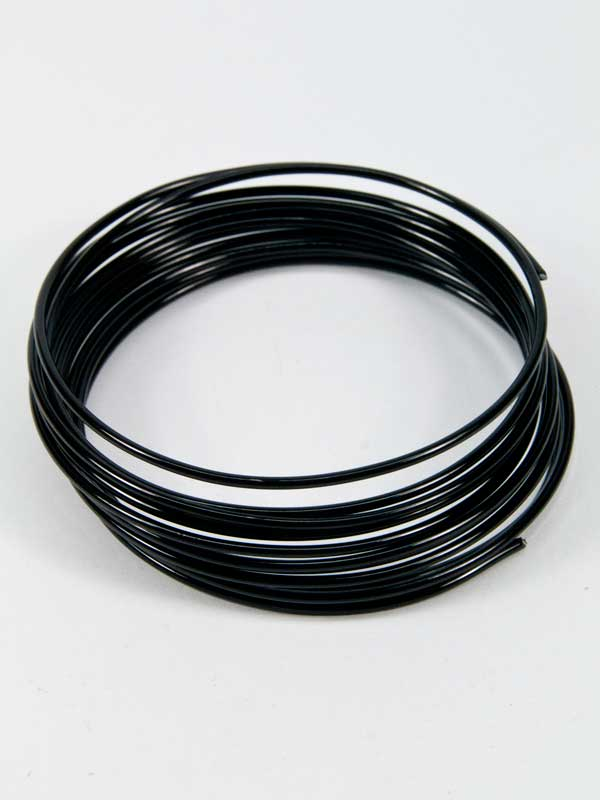 aluminiumdraad zwart