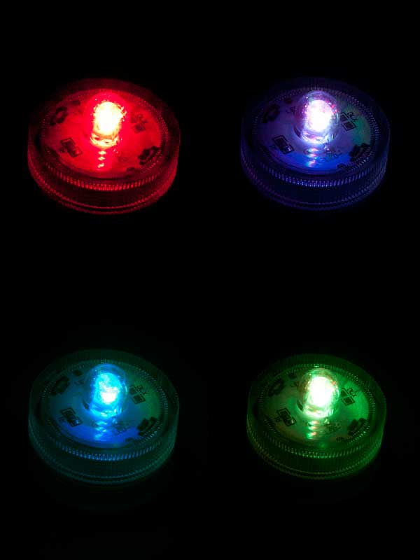led onderwater licht color-change