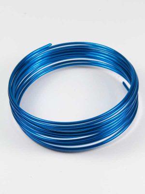 aluminiumdraad blauw