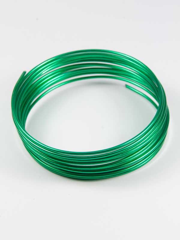 aluminiumdraad groen