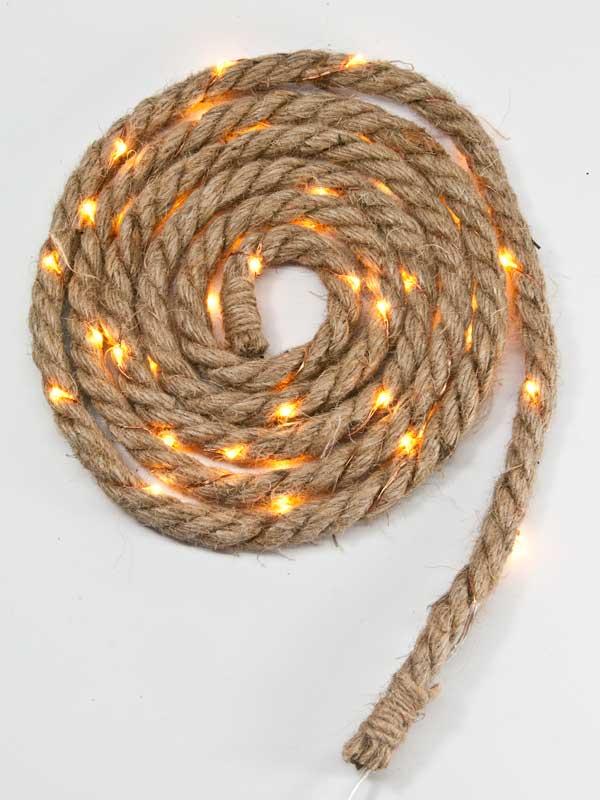 touw met LED lichtjes
