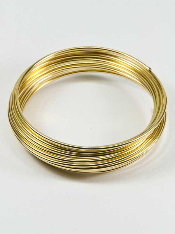 aluminiumdraad goud