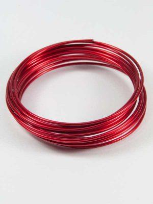 aluminiumdraad rood