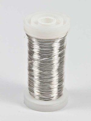 bloemendraad zilver
