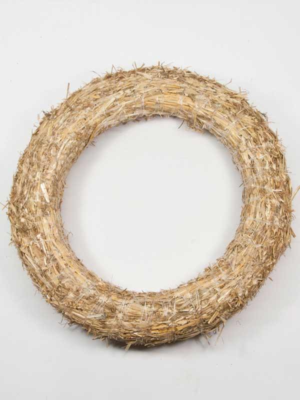 strokrans of ring van stro, 30 cm doorsnede