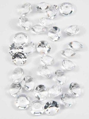 acryl diamanten 30 stuks