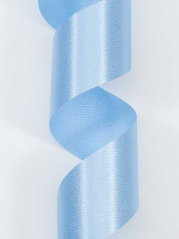 lichtblauw satijnlint 40 mm breed