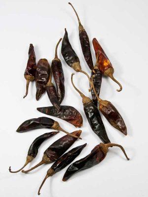Rode pepers voor decoratie