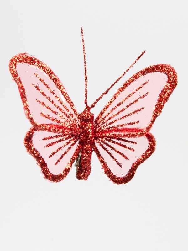 vlinder rood