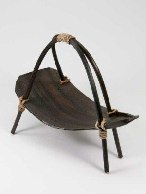 Stijlvol schaaltje van cocosblad