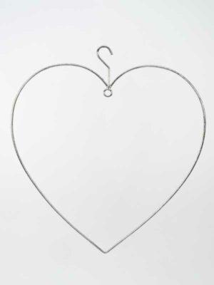 IJzeren frame in hartvorm