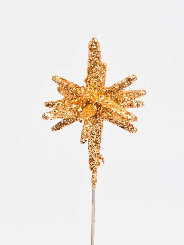 3 dimensionale ster als decoratiespeld