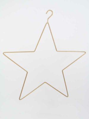 metalen frame stervorm