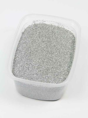 Decoratiezand zilver