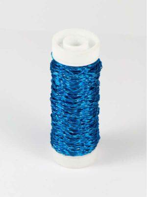 effectdraad blauw, klosje met 25 gram