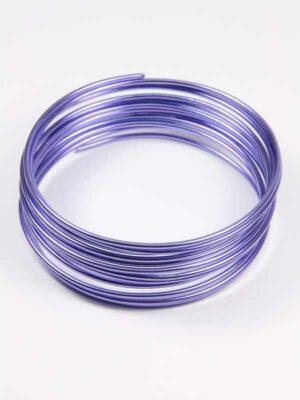 aluminiumdraad lavendel 3 meter